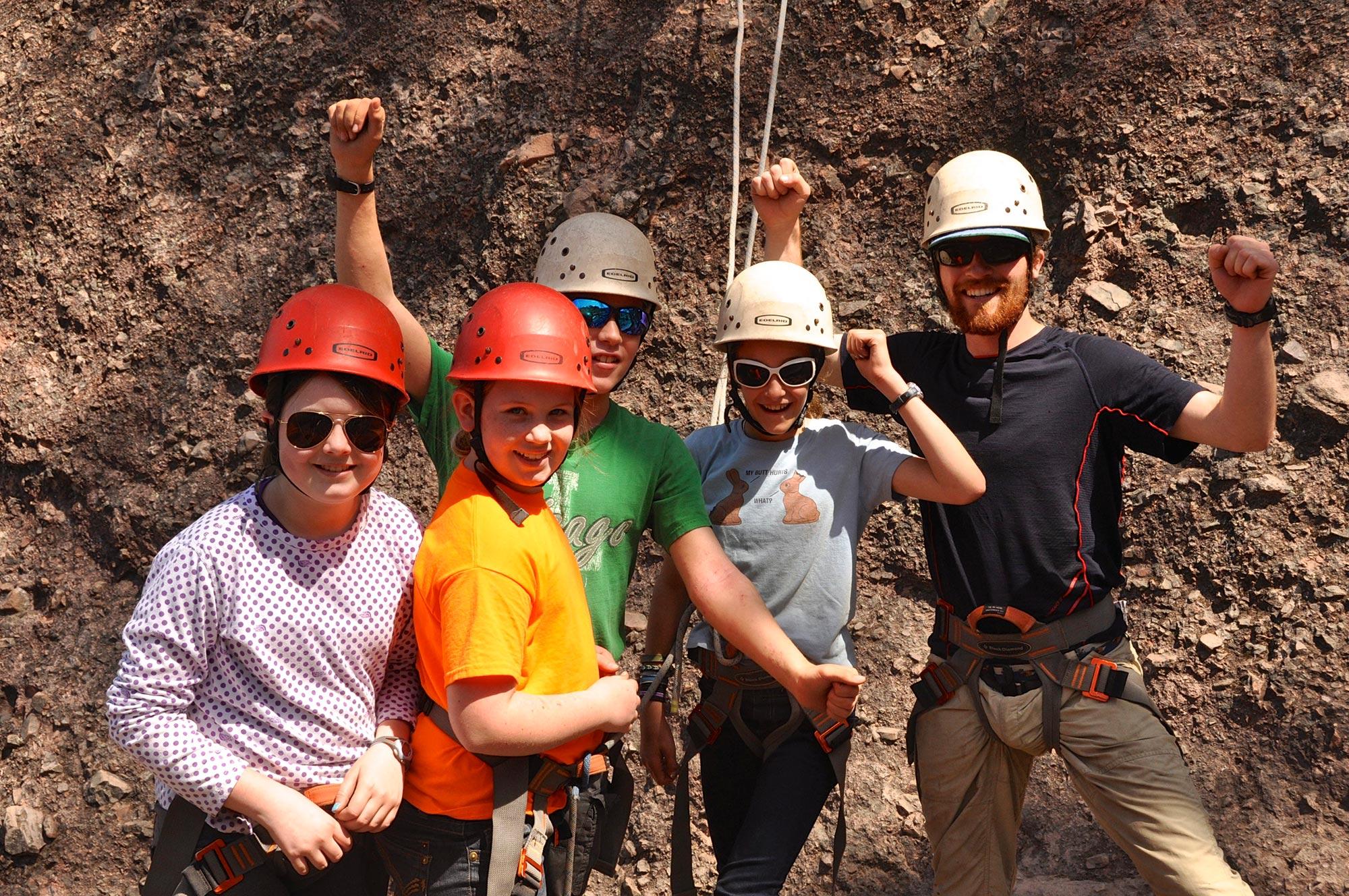 Rock Climbing @ Pinnacles